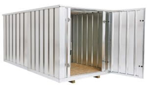 Double storage container