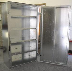 Extended locker